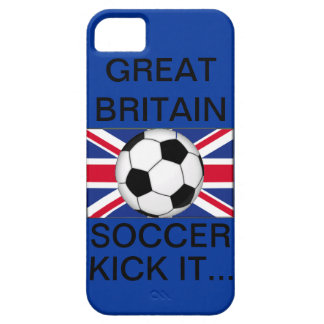 Great Britian Soccer, Kick It... iPhone 5 Covers