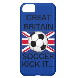 Great Britian Soccer, Kick It... iPhone 5C Case