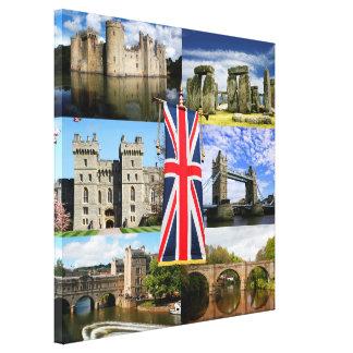 Great British History Canvas Print