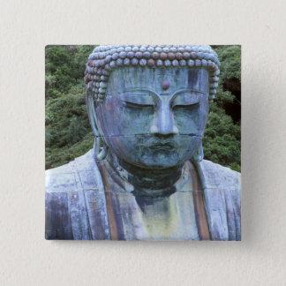 Great Buddha Detail, Kotokuji Temple, 15 Cm Square Badge