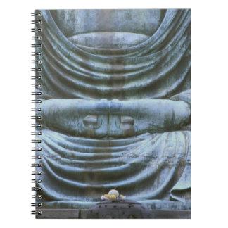 Great Buddha Detail, Kotokuji Temple, Kamakura, 2 Notebook