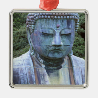 Great Buddha Detail, Kotokuji Temple, Silver-Colored Square Decoration