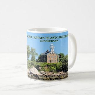Great Captain Island Lighthouse, Connecticut Mug