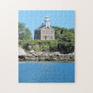 Great Captain Island Lighthouse Connecticut Puzzle