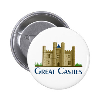 Great Castles 6 Cm Round Badge