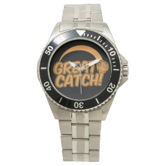 GREAT CATCH! Baseball watch