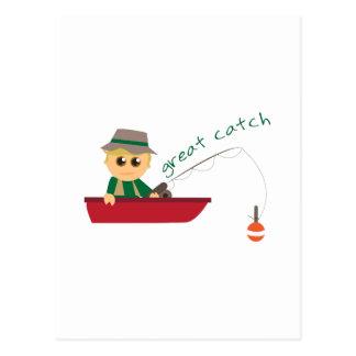 Great Catch Postcards