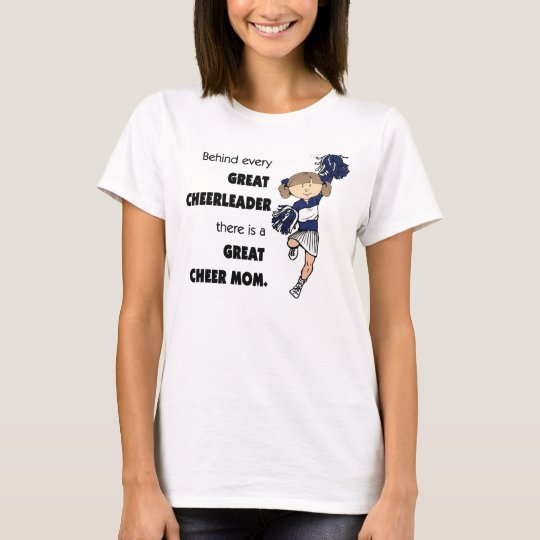 Great Cheer Mum-brown T-Shirt