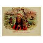 Great Chief Vintage Cigar Box Labels Poster