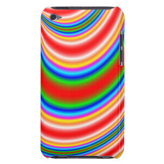 Great colorful line pern barely there iPod case