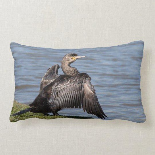 Great Cormorant Lumbar Cushion