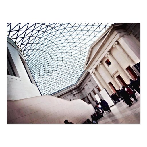 Great Court - The British Museum Postcard