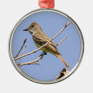 Great Crested Flycatcher Christmas Ornament