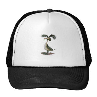 great crested grebe wild bird, tony fernandes cap