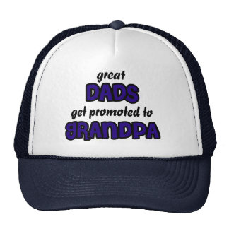 Great Dad get promoted to Grandpa Hat