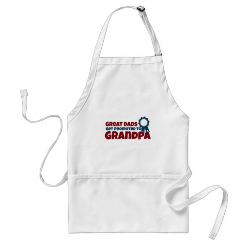 Great Dads Get Promoted to Grandpa Aprons