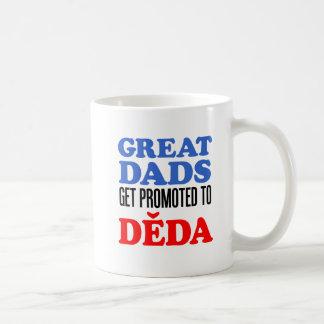 Great Dads Promoted To Deda Coffee Mug