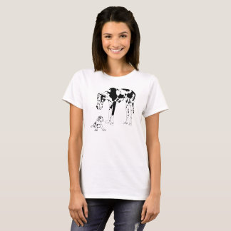 Great Dane and Puppy T-Shirt