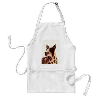 Great dane adult apron