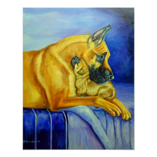Great Dane Art Wall PRINT