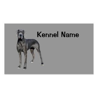 Great Dane Breeder Business Card