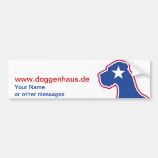 Great Dane breeder identity Bumper Sticker