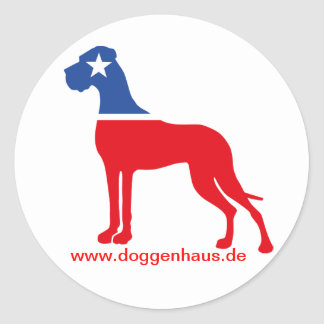 Great Dane breeder identity Stickers