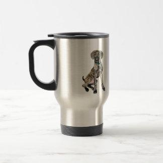 Great Dane Brindle Puppy Coffee Mug