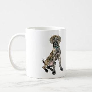 Great Dane Brindle Puppy Mugs