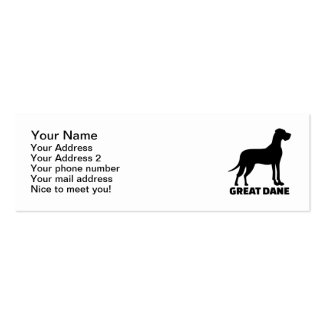 Great Dane Business Card Template