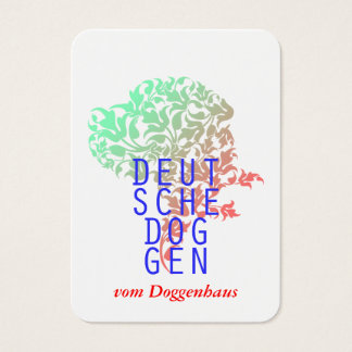 Great Dane Business Cards