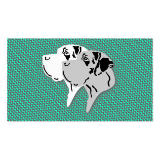 Great Dane Cards Pack Of Standard Business Cards