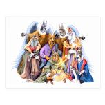 Great Dane Christmas Nativity Postcard