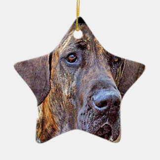 """Great Dane"" Christmas Ornament"