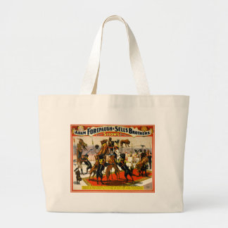 Great Dane Circus Show Large Tote Bag