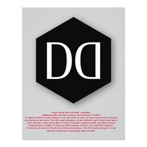 Great Dane DD Identity Personalized Flyer