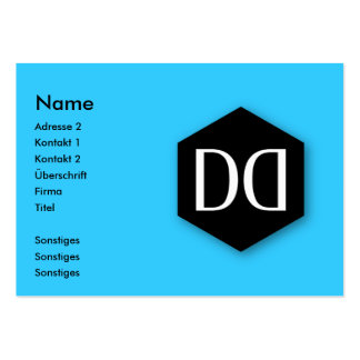 Great Dane DD Identity Pack Of Chubby Business Cards