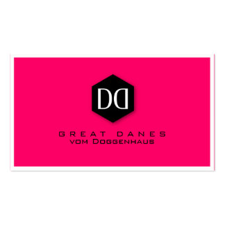 Great Dane DD Identity Pack Of Standard Business Cards