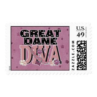 Great Dane DIVA Stamp