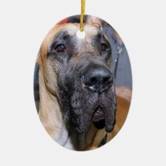 GREAT DANE DOG ORNAMENT