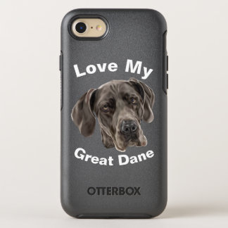 Great Dane Dog OtterBox Symmetry iPhone 8/7 Case