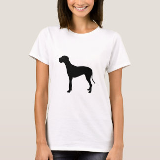 Great Dane dog silhouette T-Shirt