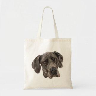 Great Dane Dog Tote Bag