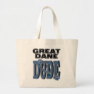 Great Dane DUDE Canvas Bags