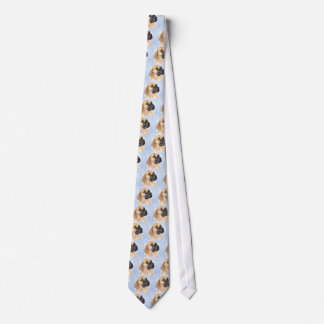 Great Dane Fawn Puppy Tie