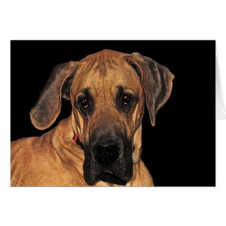 Great Dane Gentle Giant Card