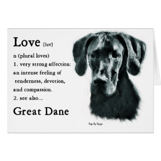 Great Dane Gifts Card