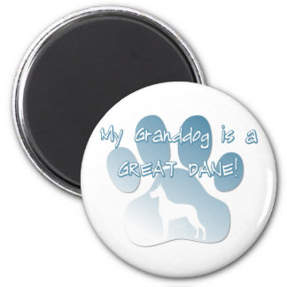 Great Dane Granddog Magnet