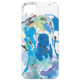 Great dane graph IC iPhone 5 Covers