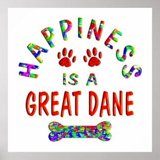 Great Dane Happiness Print
